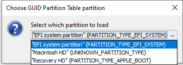 Guid partition.