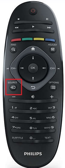 Philips 42pfl4606h - remote.