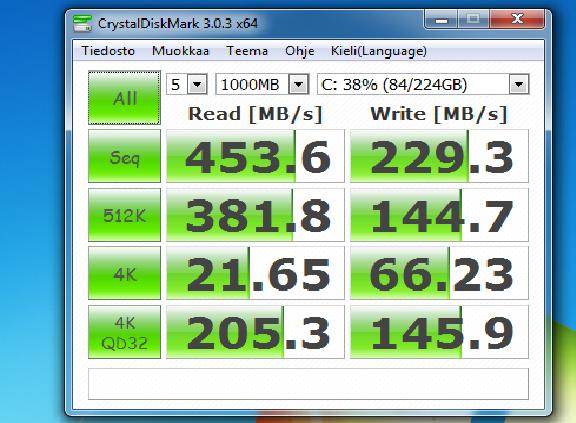 SSD diskamrk.