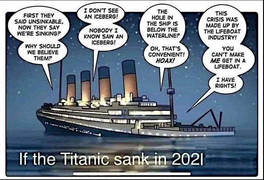 titanic 2021.