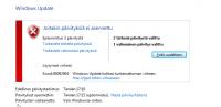 Windows 7 päivitys onkelma 1.
